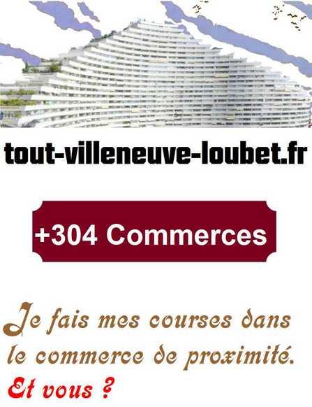 tout-Villeneuve-Loubet Je fais mes courses dans le commerce de proximité. Et vous ?